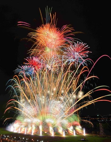 The 51th Katsushika Fireworks Festival
