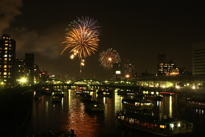 The 40th Sumida River Fireworks Festival
