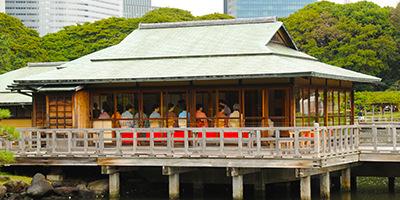 TOKYO GRAND TEA SEREMONY 2016 (Hama-rikyu Gardens)
