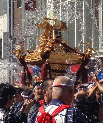 Fukagawa Hachiman festival (Tomioka Hachimangu Shrine)