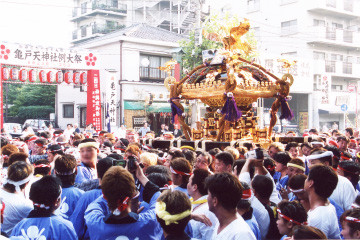 Kameido Tenjin Shrine Annual Festival 2016