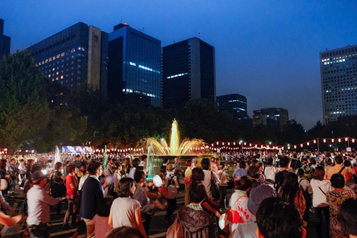 Hibiya Park Marunouchi Ondo Bon Odori Festival