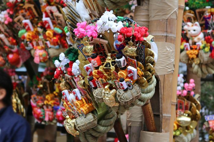 """Okunitama Jinja Shrine """"Tori no Ichi"""" (Otori Shrine Annual Festival)"""