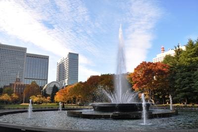 ≪Famous Autumn Foliage Spots≫ Hibiya Park