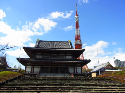 ≪Hatsumode Spot≫ Zojoji Temple