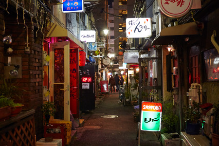 Shinjuku Golden Gai Summer Evening Thanksgiving