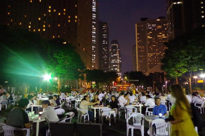 Evening Bar!!! (Shinjuku Central Park)