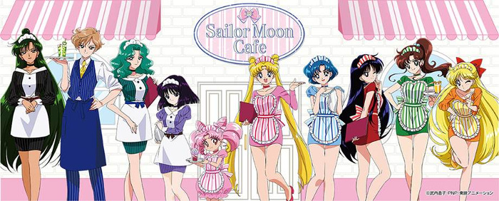 "Limited Time Offer ""Sailor Moon Cafe 2017"""